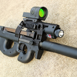 FN, Damage Industries - PS90 w/ Extended Optic 1913 Rail