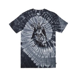 HUF - SATAN ON ACID TEE (Black Tonal)