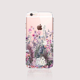 bycsera - iPhone 6s Case Floral iPhone 6s Plus Case Floral Clear iPhone Case Floral iPhone