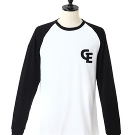GOODENOUGH - FELT WAPPEN RAGLAN LONG SLV