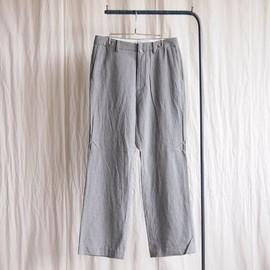 YAECA - Wide Slacks #gray