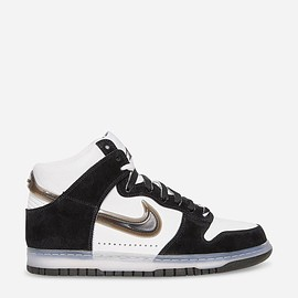 NIKE, Slam Jam - DUNK HI BLACK/WHITE