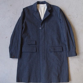 chimala/チマラ - ARMY SERGE MILITARY COAT