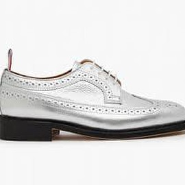Thom Browne - Thom Browne DSM Special Classic Longwing Shoe (Silver)