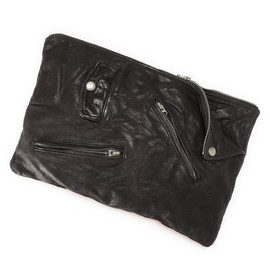 beautiful people - shrink leather clutch bag 2014AW
