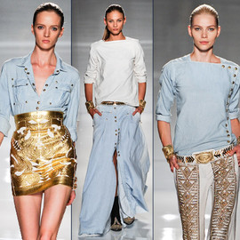 BALMAIN - SS12 Balmain Denim Collection