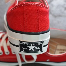 CONVERSE Addict - CHUCK TAYLOR CANVAS OX レッド