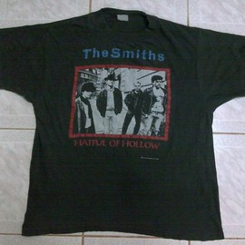 THE SMITHS - HATFUL OF HOLLOW 1984 UK TOUR T-Shirt VINTAGE