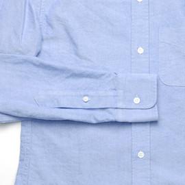 Band of Outsiders - B.D. SHIRT OXFORD CLOTH*BLUE