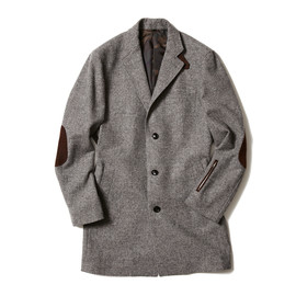 SOPHNET. - BRITISH TWEED CHESTER COAT