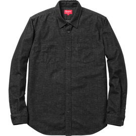Supreme - Flannel Work Shirt - Black