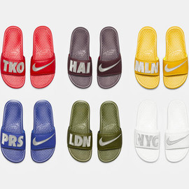 NIKE - BENASSI JDI PRINT QS 'CITY COLLECTION