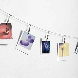 urban outfitters - Metal Photo Clip String Set