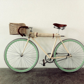mint - mint bike with umbrella