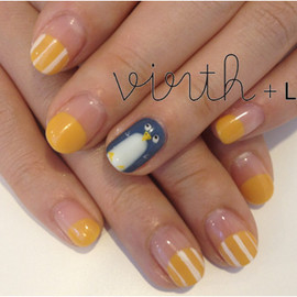 virth+LIM - hand nail ペンギン
