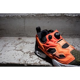 Reebok - InstaPump Fury - Olive/Orange
