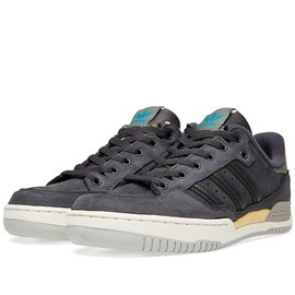 adidas originals - Tennis Super - Phantom/Stone Green