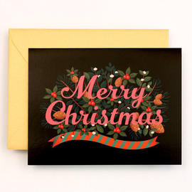 Clap Clap - NEW Merry Christmas Card for Holidays - Black