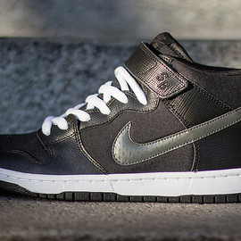 Nike - SB Dunk Mid / Charred Grey