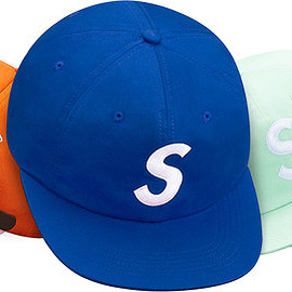 Supreme - S Logo 6-Panel cap