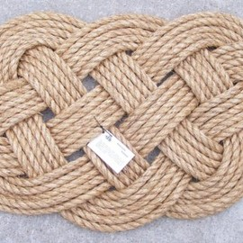 KnoticallyInclined - Ocean Plait Rope Doormat