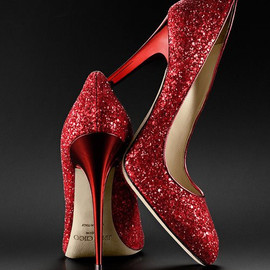 JIMMY CHOO - Red Heels.