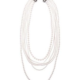 LANVIN - Art Deco Pearl Necklace