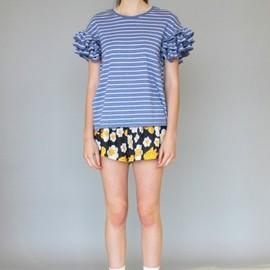 KAREN WALKER - flower short pants