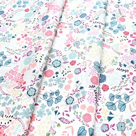 Art Gallery Fabrics - Flower Child Blooming Ground Lustrous