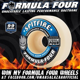 Spitfire Wheels - FORMULA FOUR 52mm 99duro