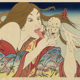 Masami Teraoka - 31 Flavors Invading Japan/Today's Special