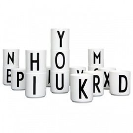 Design Letters - Arne Jacobsen cups