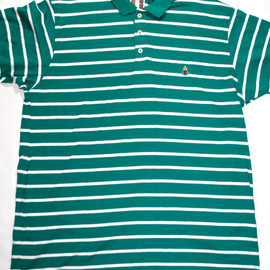 Gant Rugger - Vintage Gant Striped Green Polo Shirt Mens Size XL Made in USA
