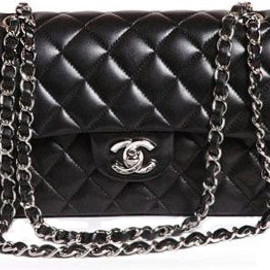 CHANEL - Chain Bag Black/Silver