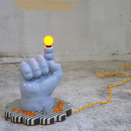 magma - finger lamp