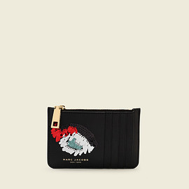 MARC BY MARC JACOBS - vintage collage card zip wallet