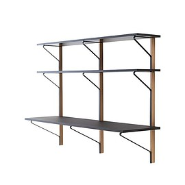 Artek - KAARI 010 WIDE SHELF WITH DESK