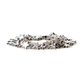 "nonnative, END - DWELLER 2WAY BRACELET ""STAR"" 925 SILVER by END"