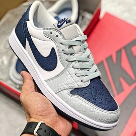 Jordan Brand, Georgetown University, NIKE - Air Jordan 1 Low Retro OG - Georgetown PE