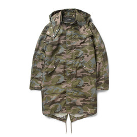GIVENCHY - Camouflage-Print Hooded Parka