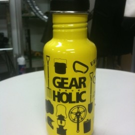 klean Kanteen - GEARHOLIC bottle c/SOLAR YELLOW