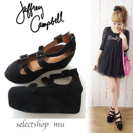 JEFFREY CAMPBELL - COW SUEDE  3BCKL