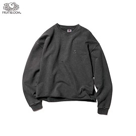 SOPHNET., FRUIT OF THE LOOM® - FRUIT OF THE LOOM® CUT OFF WIDE CREWNECK SWEAT