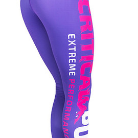 critical pump - Critical Purple Leggings