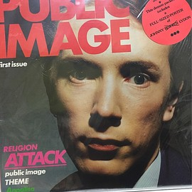Public Image Ltd - First Issue UK Orig. with Poster (SPOTS007)