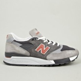 New Balance - Men's Grey M998GGO Made in USA Sneakers