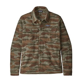 patagonia - M's Better Sweater® Shirt Jacket, Bear Witness Camo: Sage Khaki (BWSK)