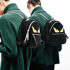 Fendi - Fendi Mini Monster Plush Backpack