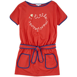 Little Marc Jacobs - I Love Little Marc Jacobs Dropped-Waist Dress