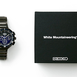 SEIKO - GIUGIARO DESIGN white mountaineering, Watch